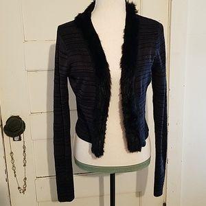 LA Galleria LA Rue Elegant Short Sweater